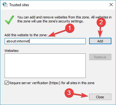 Сообщения «Обнаружена проблема при проверке сертификата» и «Невозможно гарантировать подлинность домена, с которым устанавливается зашифрованное соединение» при попытке открыть сайт